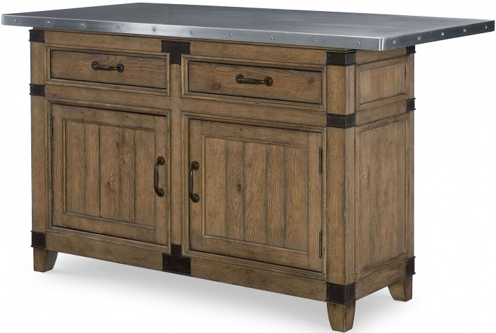 Metalworks Factory Chic Kitchen Island