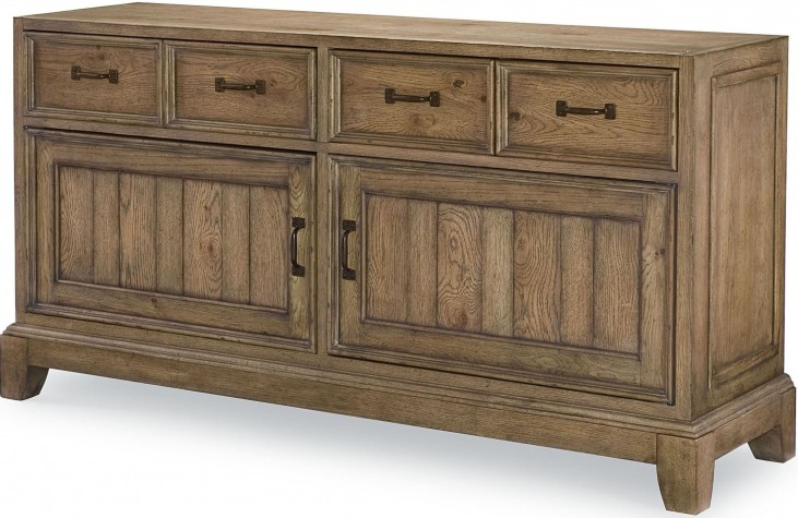 Metalworks Factory Chic 3 Drawers Buffet
