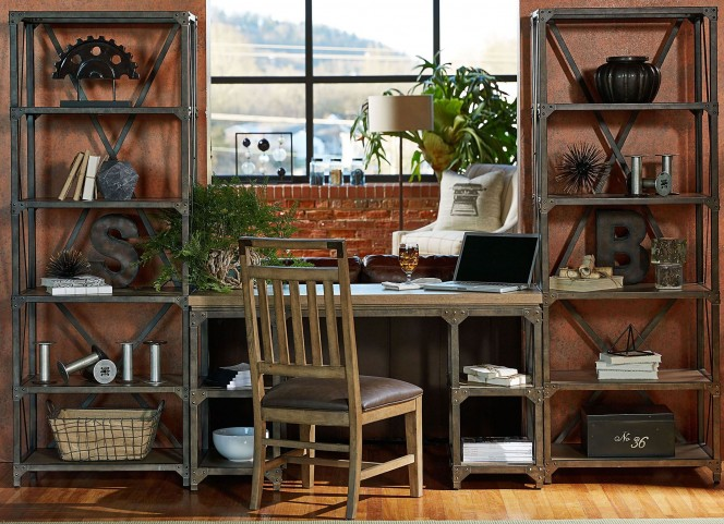 Metalworks Factory Chic Home Office Set