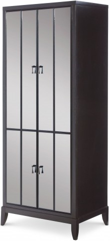 Symphony Platinum & Black Tie 3 Drawers Utility Cabinet