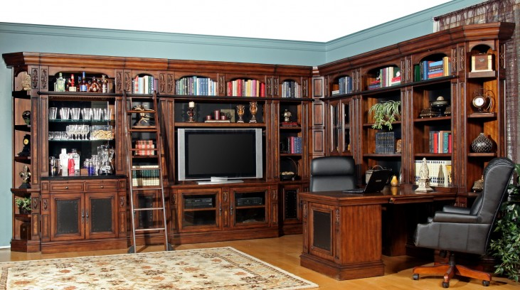 Leonardo Large Entertainment Wall Unit