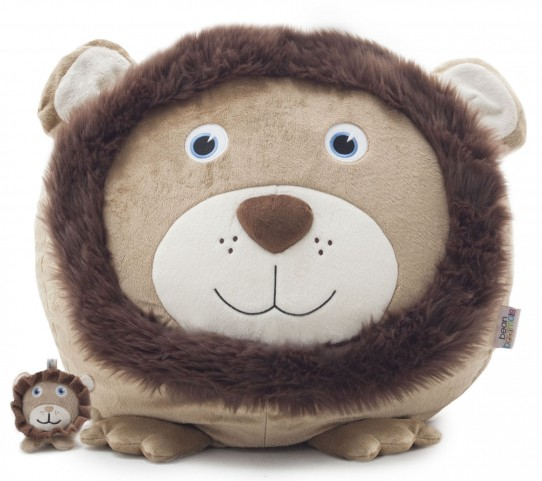 Big Joe Leo the Lion with Lil Buddy Short Fur Bagimal
