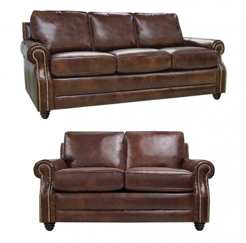 Levi Italian Leather Living Room Set