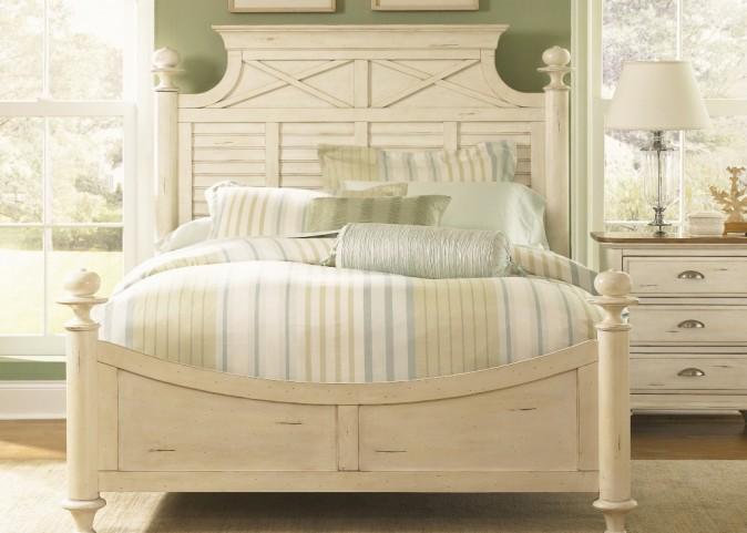 Ocean Isle King Poster Bed