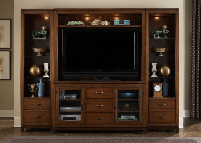 Shadow Valley Entertainment Wall Unit