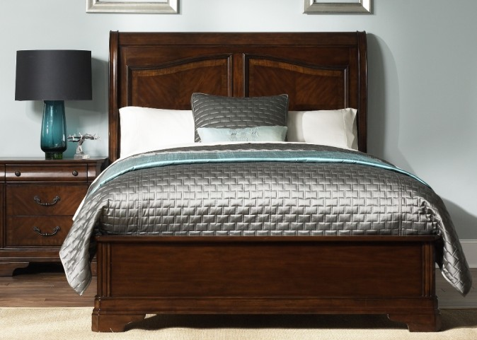 Alexandria Queen Panel Bed