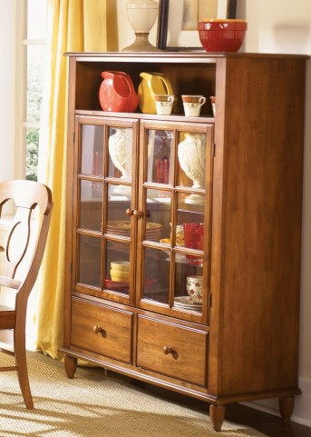 Low Country Bronze Curio Cabinet
