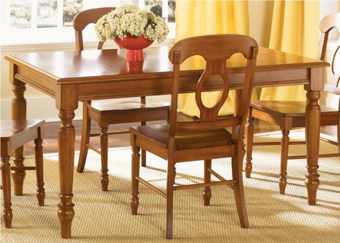 Low Country Bronze Rectangular Leg Table - Liberty Furniture