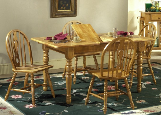 Country Haven Butterfly Leaf Dining Set
