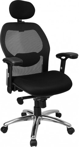 High Back Super Office Chair with Knee Tilt Control