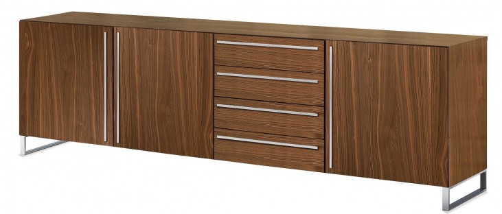Life Satinated Aluminum Veneered Sideboard