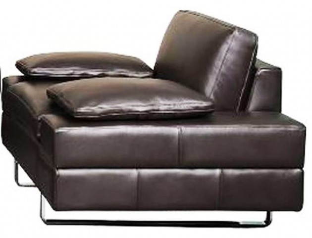 Lindo Black Leather Chair