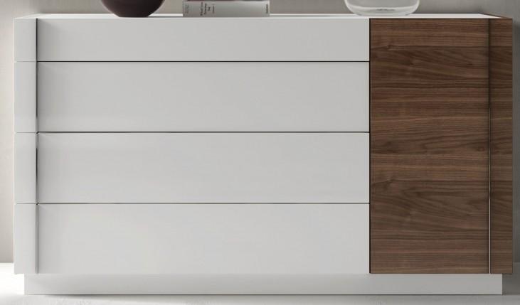 Lisbon Natural White Lacquer Dresser