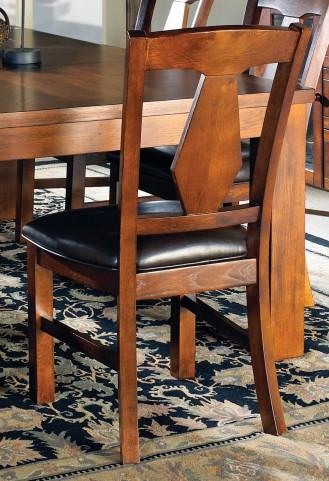 Lakewood Medium Oak Side Chair Set of 2