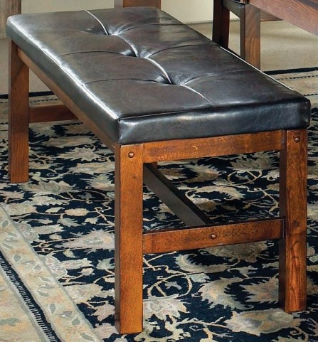 Lakewood Medium Oak Bench