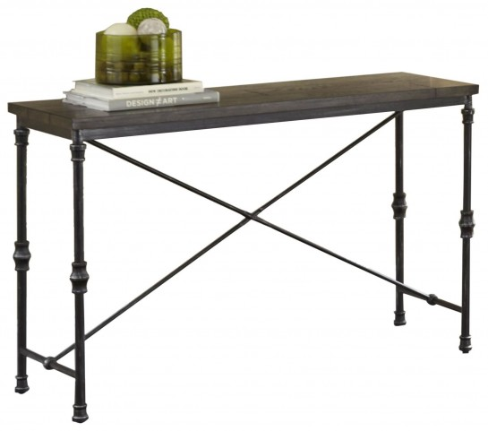 Lillian Gunmetal Sofa Table