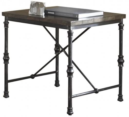 Lillian Gunmetal End Table
