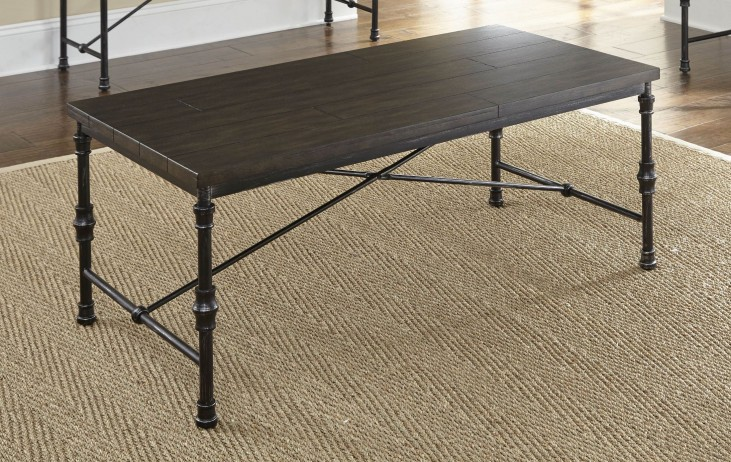 Lillian Gunmetal Occasional Table