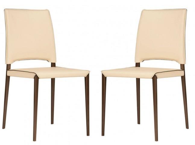 Ritz Lola Cream Dining Chair Set of 2