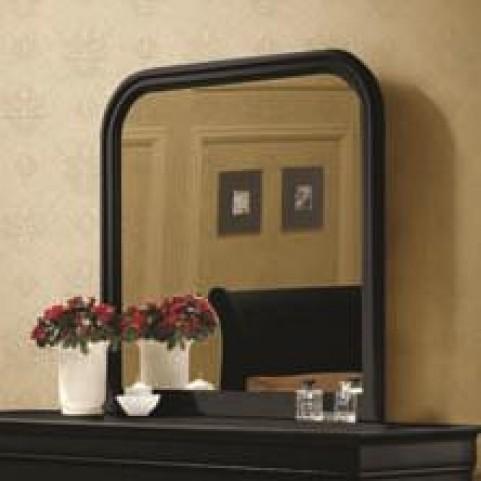 Louis Philippe Black II Mirror
