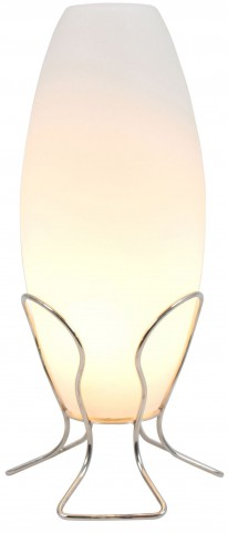 Cocoon Frosted Glass Lamp