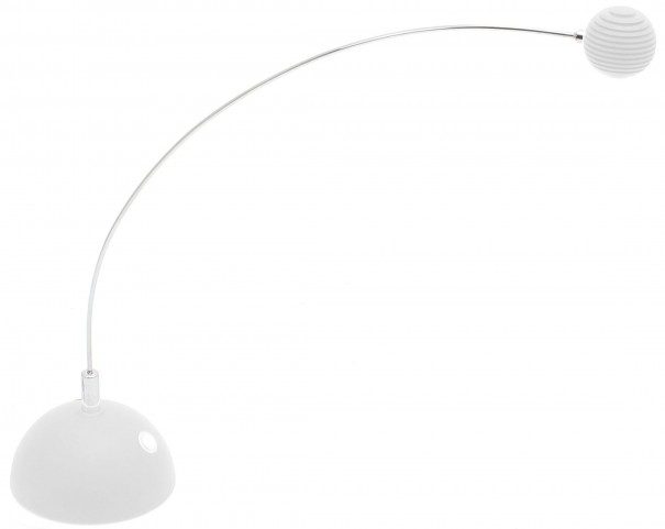 Atomic Truffle White Table Lamp