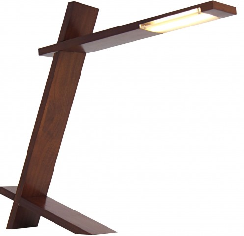 Plank Walnut Lamp
