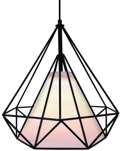 Hedron White Pendant Lamp