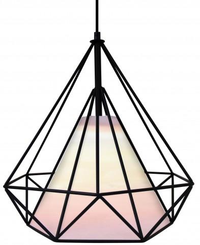 Hedron White Pendant Lamp