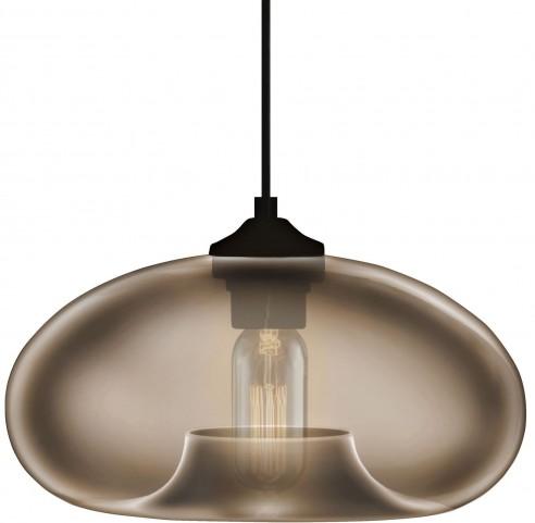 Torus Round Smoke Pendant Lamp