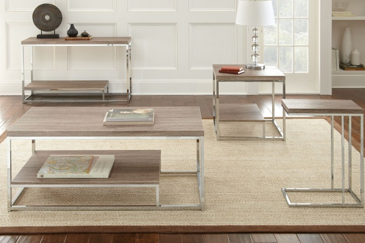 Lucia Brown Occasional Table Set