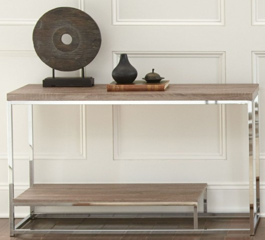 Lucia Brown Sofa Table