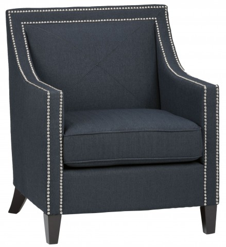 Luca Indigo Club Chair