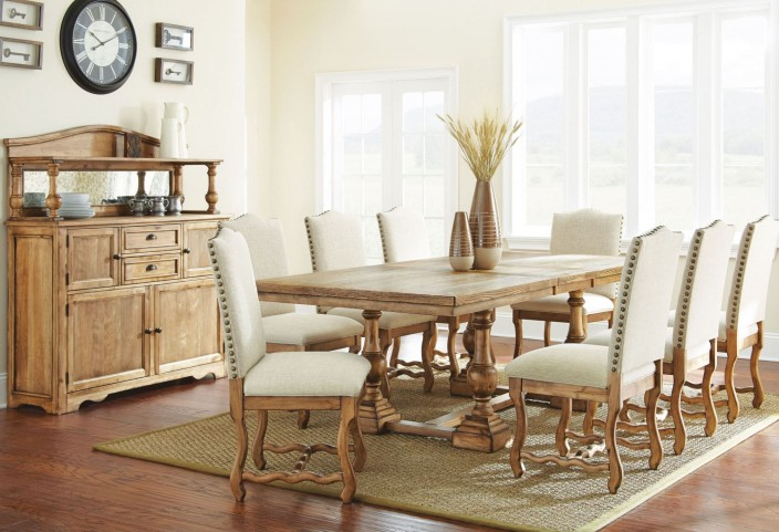 Plymouth Extendable Rectangular Dining Room Set