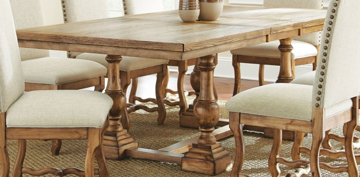 Plymouth Extendable Rectangular Dining Table