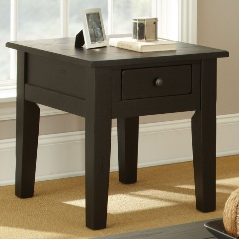 Liberty Antique Black End Table