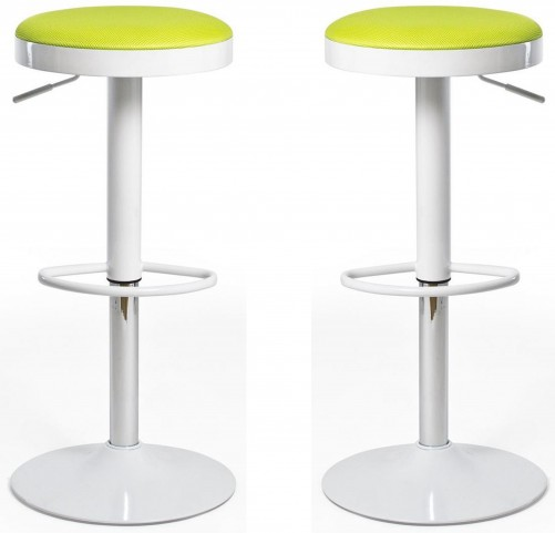 Euro Home Carrie Green Bar Stool Set of 2