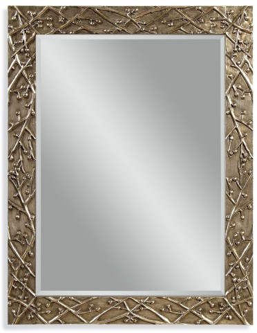 Panache Ant Pewter Wall Mirror