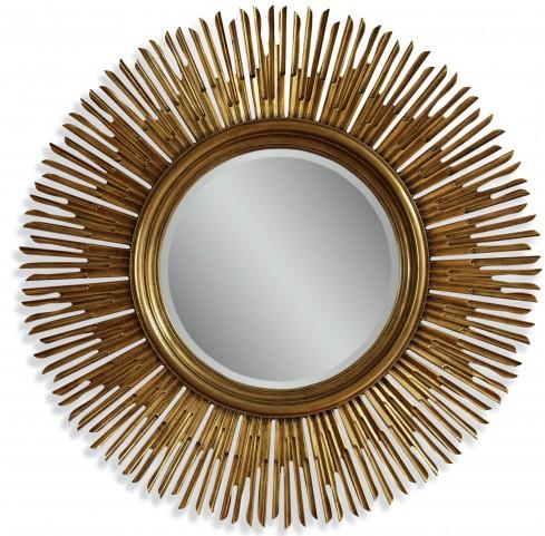 Soleil Gold Wall Mirror