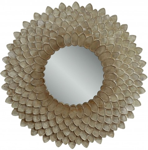 Chloe Pearlescent Wall Mirror
