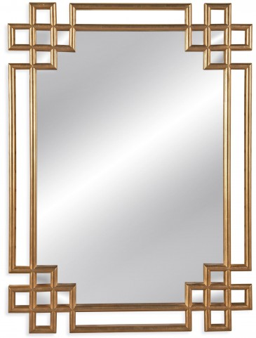Frederick Ant Gold Leaf Wall Mirror