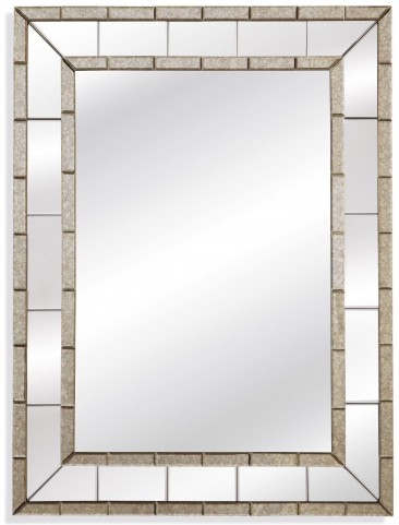 Caro Antique and Clear Wall Mirror