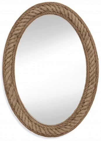 Jute Rope Wall Mirror