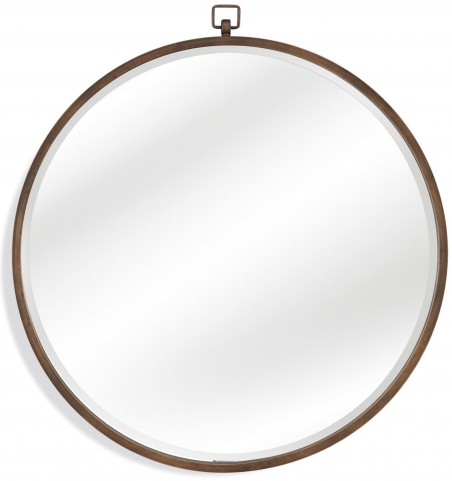 Quinn Antiqued Bronze Wall Mirror