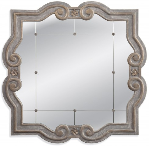 Patterson Weathered Grey Wall Mirror