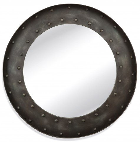 Kirk Striking Industrial Wall Mirror