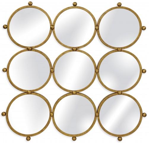 Ellis Gold Leaf Wall Mirror