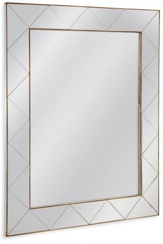 Allura Gold Wall Mirror