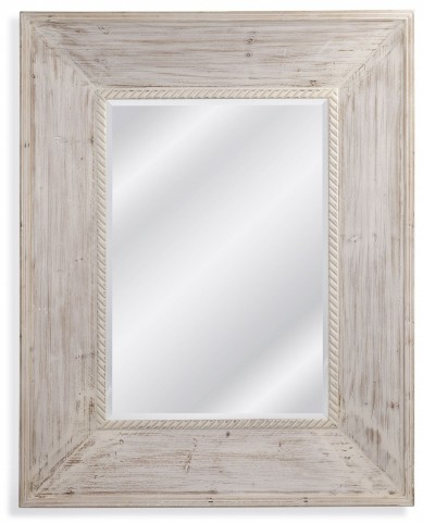 Darby Weathered White Wall Mirror