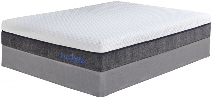 "13"" Import Innerspring White Queen Mattress"
